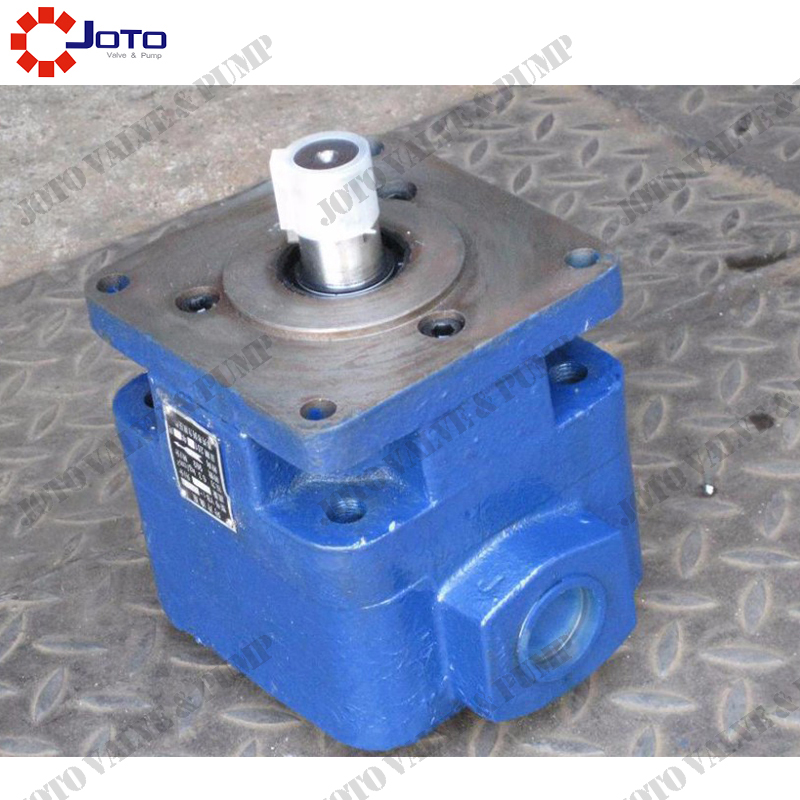 Great Quality YB1-50 40ml/r Rotary Vane Pump reliable and convenient in maintenance 6.3MPA