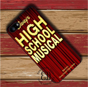 High School Musical логотип Чехол для iPhone X 4S 5 5S SE 5C 6 6 S 7 8 плюс Samsung S3 S4 S5 Mini S 6S 7 S8 Edge Plus Примечание 3 4 5 8