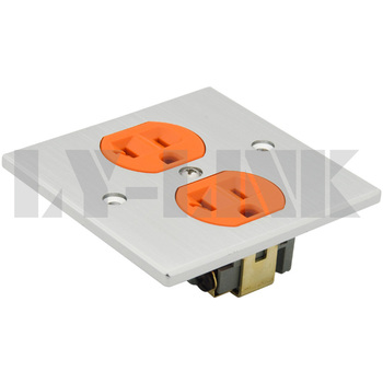 Алюминиевый power wall plate with silver color
