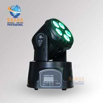 24X много DMX свет этапа 5*15 Вт RGBAW мини-moving Head мыть свет, мыть свет, LED Moving Head для Event, дискотека