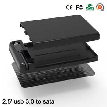 Экстерно usb hdd Тип адаптера C sata hdd caddy 2.5 hdd корпус usb 3.0 5 ГБИТ hdd hd корпус для 7/9 мм жесткий диск
