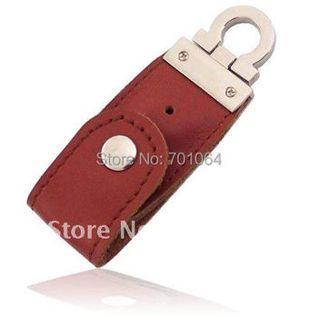 Горячая Кожа 16 ГБ USB Flash Drive Pen Drive Pendrive Flash Drive Card Memory Stick Диски Микроданных