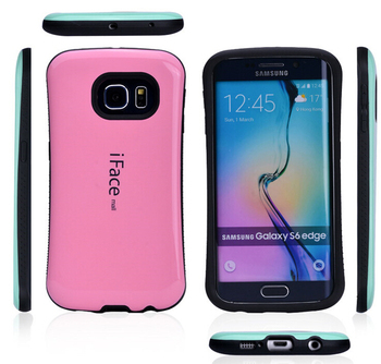 DHL Бесплатная Доставка iface case для Samsung Galaxy S6 Edge Plus, hard plastic case для S6 Edge Plus 50 шт./лот