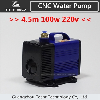 Submersible water pump 100w 4.5m for cnc router 3kw 4kw spindle motor
