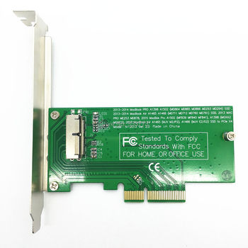 PCIE PCI-Express PCI-E PCI Express для 2013 Apple Macbook Pro Air SSD Конвертировать Карты для A1465 A1502 A1466